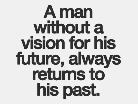 a man without vision